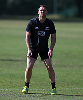 PRETORIA, SOUTH AFRICA - OCTOBER 05: Ben Smith during the Rugby Championship New Zealand All Blacks captain's run at St David's Marist Inanda in Sandown, South Africa on Friday, October 5, 2018. Photo: Steve Haag / stevehaagsports.com