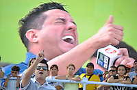 SÃO PAULO, SP, 01 DE MAIO DE 2013 - 1º DE MAIO UNIFICADO - DIA DO TRABALHO: Show Bruno e Marrone durante festa do 1º de Maio Unificado, organizado pelas centrais sindicais Força Sindical, CTB, UGT e Nova Central para comemorar o Dia do Trabalhador na manhã desta quarta feira (01) na Praça Campo de Bagatelle, em Santana, Zona Norte da Capital. FOTO: LEVI BIANCO - BRAZIL PHOTO PRESS