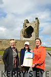 Ballylongford Oyster Festival : Pictured at Carrigafoyle Castle to announce the upcoming Ballylongford Oyster festival to be held on 4th,5th & 6th of august were Deidre Power, Mary Fox & Marie Hanrahan-O'Neill.