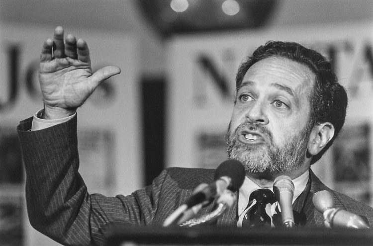 Secretary of Labor Robert Reich, in October 1993. (Photo by Laura Patterson/CQ Roll Call via Getty Images)