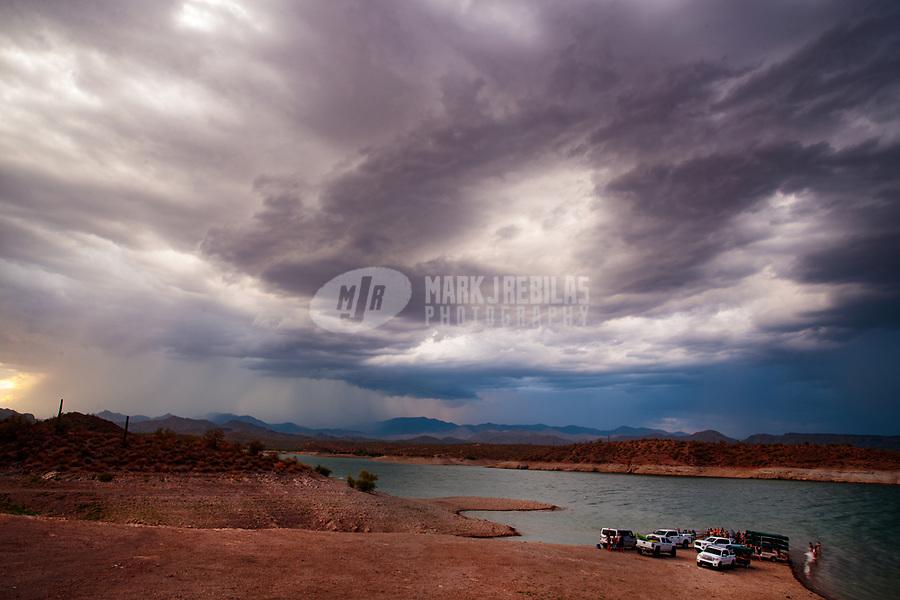 Lightning, storm, storm chasing, storm chaser, Arizona, weather, clouds, desert, mountains, rain, monsoon, Lake Pleasant