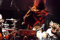 Vita Imana performing  at the  Arena  Club in Madrid