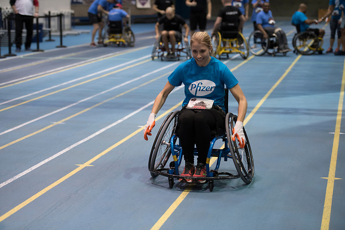 TORONTO, ON, February 21, 2018 - The Second Paratough Cup was held at the University of Toronto Athletic Centre.
