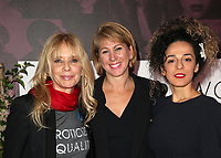 LOS ANGELES, CA - NOVEMBER 2: Rosanna Arquette, Sharon Waxman, Masih Alinejad, at TheWrap&rsquo;s Power Women&rsquo;s Summit Day2 at the InterContinental Hotel in Los Angeles, California on November 2, 2018. <br /> CAP/MPI/FS<br /> &copy;FS/MPI/Capital Pictures