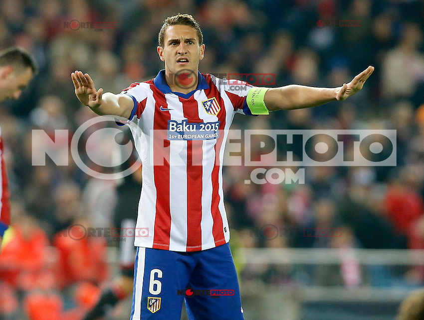 Atletico de Madrid's Koke during Champions League 2014/2015 match.March 16,2015. (ALTERPHOTOS/Acero) /NORTEphoto.com