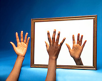 CHIRALITY: HUMAN HAND &amp; MIRROR IMAGE<br />