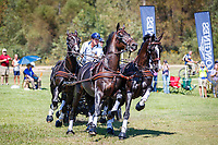 AUS-Boyd Exell, during the Marathon for the FEI World Team and Individual Driving Championships. 2018 FEI World Equestrian Games Tryon. Saturday 22 September. Copyright Photo: Libby Law Photography
