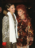 """Naomi Judd and Ashley Judd arrive at the Warner Theatre for the Washington, D.C. Premiere of the movie """"Amistad"""" on December 4, 1997..Credit: Ron Sachs / CNP"""