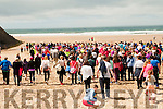 "A Walk to Remember :  A section of the people who took part in the ""Walk to Remember Caroll O'Gorman in Ballybunion on Saturday last."