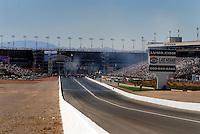 Apr 9, 2006; Las Vegas, NV, USA; An overall view of The Strip at Las Vegas Motor Speedway in Las Vegas, NV during the NHRA Summitracing.com Nationals. Mandatory Credit: Mark J. Rebilas