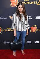 "11 July 2017 - Hollywood, California - Tiffani Thiessen. Disney's ""Descendants 2"" Los Angeles Premiere held at the ArcLight Cinerama Dome in Hollywood. Photo Credit: Birdie Thompson/AdMedia"