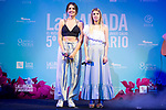 Andrea Guasch and Nerea Rodriguez during presentation of new cast of 'La Llamada' theater show at Teatro Lara in Madrid, Spain. May 24, 2018. (ALTERPHOTOS/Borja B.Hojas)