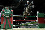 Denis Lynch of Ireland riding Quote Zavaan in action at the Gucci Gold Cup during the Longines Hong Kong Masters 2015 at the AsiaWorld Expo on 14 February 2015 in Hong Kong, China. Photo by Victor Fraile / Power Sport Images