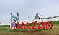 KAZAN, RUSSIA, 08.07.2018- REGIAO-RUSSIA - Vista da mesquina na entrada do Kremilin na cidade de Kazan na Russia. (Foto: William Volcov/Brazil Photo Prss/Folhapress)