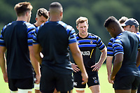 Will Chudley of Bath Rugby looks on. Bath Rugby pre-season training on August 14, 2018 at Farleigh House in Bath, England. Photo by: Patrick Khachfe / Onside Images