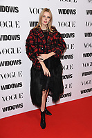 "LONDON, UK. October 31, 2018: Greta Bellamacina at the ""Widows"" special screening in association with Vogue at the Tate Modern, London.<br /> Picture: Steve Vas/Featureflash"