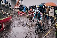Kevin Pauwels (BEL/Marlux-Bingoal)<br /> <br /> Superprestige cyclocross Hoogstraten 2019 (BEL)<br /> Elite Men's Race<br /> <br /> &copy;kramon