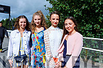 Enjoying ladies day at the Listowel Races on Friday were L-r Tara Enright, Alice McMahon, Lauren Duffey, Eabha Fitzgerald