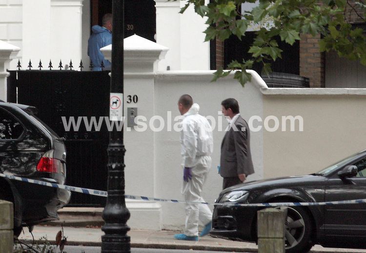 **ALL ROUND PICTURES FROM SOLARPIX.COM**                                             **NO UK NEWSPAPER PUBLICATION**.**UK MAGAZINE & SUPPLEMENT PUBLICATION ONLY** AND NO PUBLICATION IN AUSTRALIA, BELGIUM, FRANCE, GERMANY, ITALY, SCANDINAVIA AND USA**                                                                                  Caption: The Back To Black singer was found dead at her flat in Camden London at 3.54pm.                              This pic:  Police Forensics                                                                                           JOB REF: 13765       SFE       DATE:23.07.2011                                                            **MUST CREDIT SOLARPIX.COM OR DOUBLE FEE WILL BE CHARGED**                                                                      **MUST AGREE FEE BEFORE ONLINE USAGE**                               **CALL US ON: +34 952 811 768 or LOW RATE FROM UK 0844 617 7637**