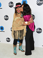 05 February 2019 - Pasadena, California - Pam Greer, Wendy Raquel Robinson. Disney ABC Television TCA Winter Press Tour 2019 held at The Langham Huntington Hotel. <br /> CAP/ADM/BT<br /> &copy;BT/ADM/Capital Pictures