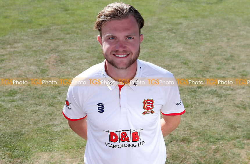 Sam Cook of Essex poses for a portrait during the Essex CCC Press Day at The Cloudfm County Ground on 30th July 2020