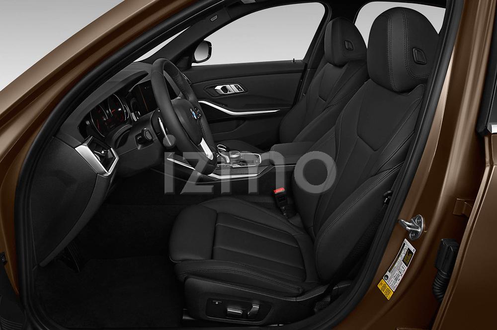 Front seat view of 2019 BMW 3-Series-Sedan 330i-Sport-Line 4 Door Sedan Front Seat  car photos