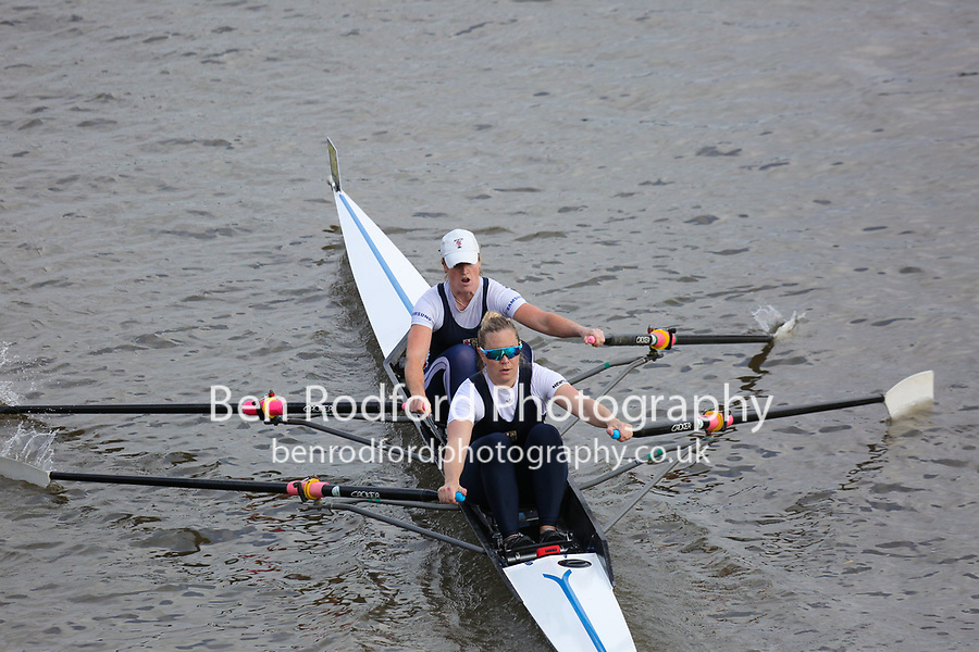 Crew: 166  London Rowing Club - W 2x Championship<br /> <br /> Pairs Head 2019<br /> <br /> To purchase this photo, or to see pricing information for Prints and Downloads, click the blue 'Add to Cart' button at the top-right of the page.
