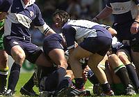 01/06/2002.Sport -Rugby  Union.Zurich Championship - Semi final.Bristol Shoguns_vs_Northampton Saints.Agustin Pichot   [Mandatory Credit, Peter Spurier/ Intersport Images].