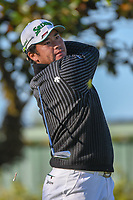 Hideki Matsuyama (JPN) watches his tee shot on 2 during round 1 of the Arnold Palmer Invitational at Bay Hill Golf Club, Bay Hill, Florida. 3/7/2019.<br /> Picture: Golffile | Ken Murray<br /> <br /> <br /> All photo usage must carry mandatory copyright credit (&copy; Golffile | Ken Murray)