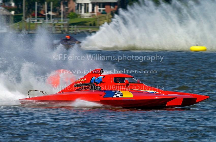 "Bruce Densten, E-14 ""Wet n' Wild"" (5 Litre class hydroplane(s)"