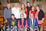 PARTY TIME: Enjoying a great time at the New Year party at the Manor Inn, Killorglin on new year's eve seated l-r: John Flynn, Bridie Houlihan and Mike O'Shea. Back l-r: Moss Joy, Micheal O'Shea, Aine O'Shea, Paudie Joy, Bridget Cremins and Annie O'Shea.