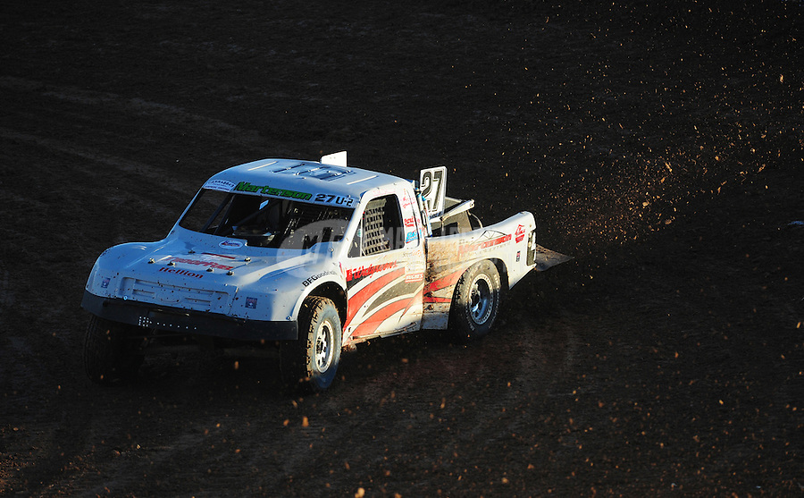 Dec. 10, 2011; Chandler, AZ, USA;  LOORRS pro 2 unlimited driver Scott Martenson during round 15 at Firebird International Raceway. Mandatory Credit: Mark J. Rebilas-