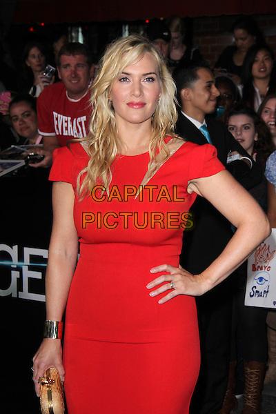 WESTWOOD, CA - March 18: Kate Winslet at the &quot;Divergent&quot; Los Angeles Premiere, Regency Bruin Theatre, Westwood,  March 18, 2014. <br /> CAP/MPI/JO<br /> &copy;Janice Ogata/MediaPunch/Capital Pictures