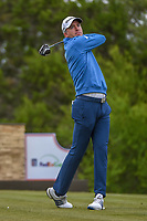 Martin Laird (SCO) watches his tee shot on 15 during Round 2 of the Valero Texas Open, AT&T Oaks Course, TPC San Antonio, San Antonio, Texas, USA. 4/20/2018.<br /> Picture: Golffile | Ken Murray<br /> <br /> <br /> All photo usage must carry mandatory copyright credit (© Golffile | Ken Murray)