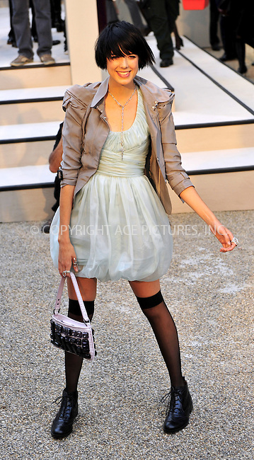WWW.ACEPIXS.COM . . . . .  ..... . . . . US SALES ONLY . . . . .....September 22 2009, London....Agyness Deyn at the Burberry Spring/Summer 2010 show at London Fashion Week on September 22, 2009 in London....Please byline: FAMOUS-ACE PICTURES... . . . .  ....Ace Pictures, Inc:  ..tel: (212) 243 8787 or (646) 769 0430..e-mail: info@acepixs.com..web: http://www.acepixs.com
