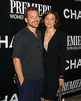 """©2003 KATHY HUTCHINS / HUTCHINS PHOTO.10th Annual """"PREMIERE"""" Women in Hollywood Luncheon.Beverly Hills, CA.OCTOBER 23, 2003..Peter Sarsgaard.Maggie Gyllenhaal"""