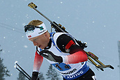 16th March 2019, Ostersund, Sweden; IBU World Championships Biathlon, day 8, mens relay; Johannes Thingens Boe (NOR)