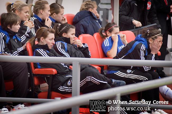 Sunderland Ladies 3 Chelsea Ladies 0, 22/03/2009. Stadium of Light, FA cup semi-final. Photo by Paul Thompson.
