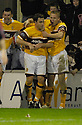 25/11/2006       Copyright Pic: James Stewart.File Name :sct_jspa08_motherwell_v_falkirk.SCOTT MCDONALD CELEBRATES SCORING MOTHERWELL'S THIRD.James Stewart Photo Agency 19 Carronlea Drive, Falkirk. FK2 8DN      Vat Reg No. 607 6932 25.Office     : +44 (0)1324 570906     .Mobile   : +44 (0)7721 416997.Fax         : +44 (0)1324 570906.E-mail  :  jim@jspa.co.uk.If you require further information then contact Jim Stewart on any of the numbers above.........