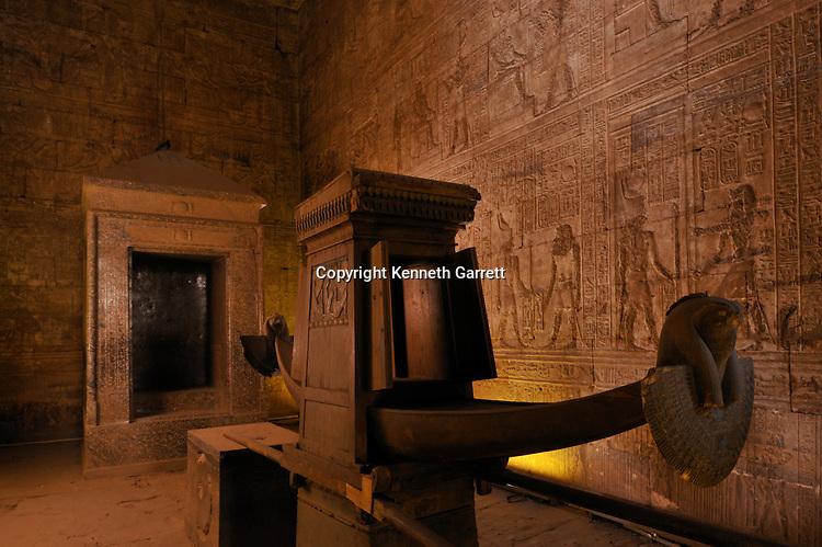 Zahi Hawass Secret Egypt Travel Guide; Egypt; archaeology; Edfu Temple, Hathor, Ptolemaic
