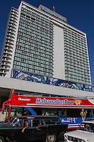 HAVANA, CUBA, 23.07.2015 –  Vista do Hotel Habana Livre na cidade de Havana em Cuba. (Foto: Paulo Lisboa/Brazil Photo Press)
