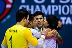 AFC Futsal Championship Chinese Taipei 2018 3rd/4th Place Match between Iraq and Uzbekistan at Xinzhuang Gymnasium on 11 February 2018 in Taipei, Taiwan. Photo by Marcio Rodrigo Machado / Power Sport Images