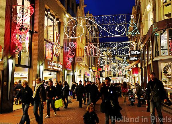 Tassen Kalverstraat Amsterdam : Kalverstraat kerst g holland in pixels