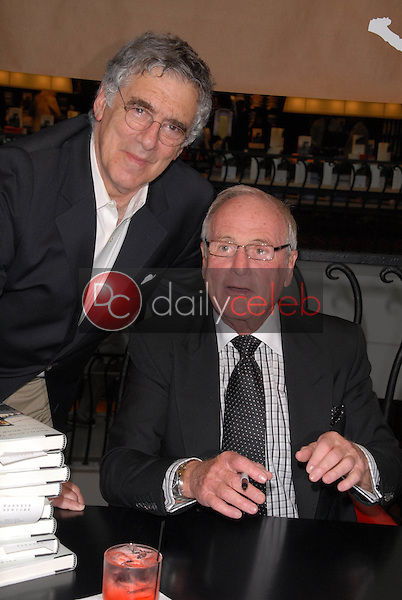 Elliott Gould and Jerry Weintraub<br /> at a celebration of Jerry Weintraub's New Book &quot;When I Stop Talking You'll Know I'm Dead,&quot; Barney's New  York, Beverly Hills, CA. 05-18-10<br /> David Edwards/Dailyceleb.com 818-249-4998