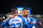 CD Leganes's  Youssef En-Nesyri, Oscar Rodriguez Arnaiz and Martin Braithwaite during La Liga match 2019/2020 round 16<br /> December 8, 2019. <br /> (ALTERPHOTOS/David Jar)