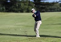 James Anstiss. Jennian Homes Charles Tour Autex Muriwai Open, Muriwai Links Golf Course, Muriwai, Auckland, New Zealand,Friday 13 April 2018. Photo: Simon Watts/www.bwmedia.co.nz