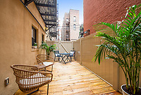 Patio Garden at 159 West 118th Street