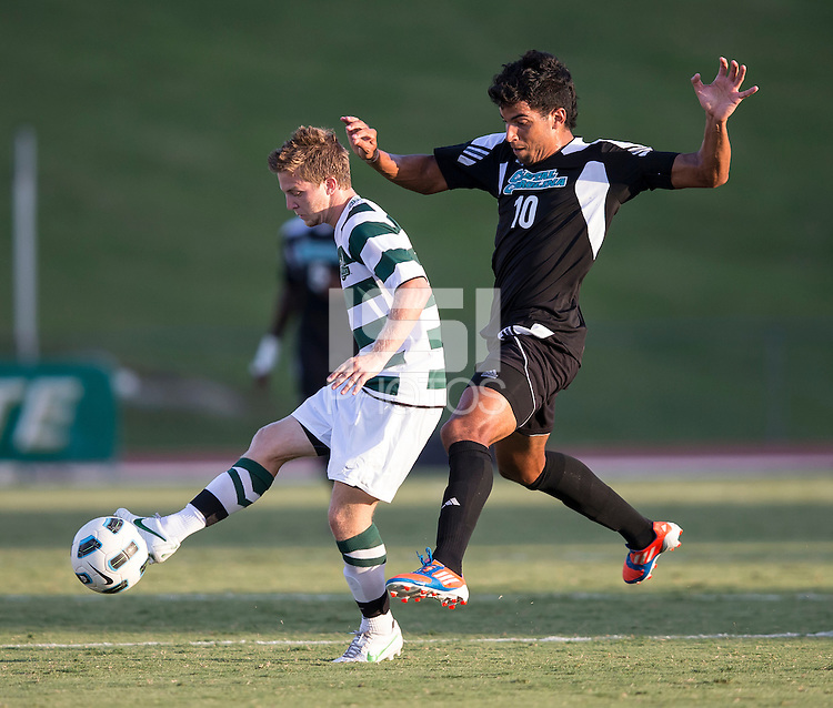 Number 8 ranked Charlotte beats number 16 ranked Coastal Carolina 1-0 on a goal by Thomas Allen in the 101st minute during the second overtime.  Pedro Ribeiro (10), Owen Darby (7)