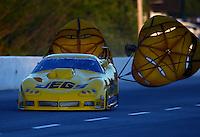 May 16, 2014; Commerce, GA, USA; NHRA pro mod driver Troy Coughlin during qualifying for the Southern Nationals at Atlanta Dragway. Mandatory Credit: Mark J. Rebilas-USA TODAY Sports