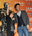 "Dakota Goyo, Shawn Levy, Nov 30, 2011:Actor Dakota Goyo  attends the press conference for the film ""Real Steel"" in Tokyo, Japan, on November 30, 2011."